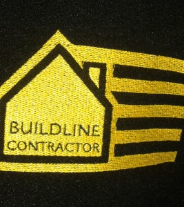 Logo na bluzie – haft