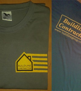 T-shirt haftowany Buildline Group