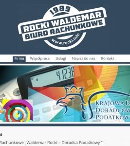 Rocki.info – wykonanie strony i logotypu