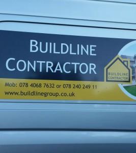 Buildline Group – projekt banera, logotypu