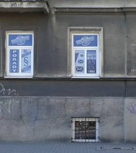 Rocki.info – projekt reklamy na oknach